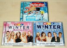 3 CD SAMMLUNG - RTL WINTER DREAMS BIG BROTHER ALLSTARS - SHAKIRA PINK AGUILERA