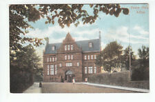 Town Hall Alloa Clackmannan Pre 1918 Wane Edinburgh Old Postcard Postally Unused