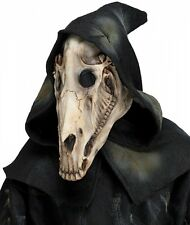 Horse Skull Mask with Shroud - Halloween Death Scary Spooky Gothic - SALE! fnt