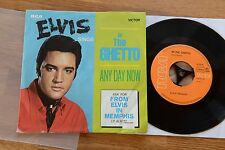 ELVIS in the ghetto / any day now  7'' inch single RCA 47--9741