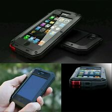 Forte Metallo alluminio impermeabile Shockproof Gorilla Cover per iPhone 5 / 5S