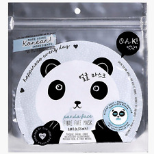 Green Tea  and Apple Beauty Panda Face Fibre Face Mask Oh K! Gift Mum
