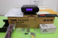 New Yaesu FT-857D Amateur Radio HF VHF UHF All Mode 100w EMS Free
