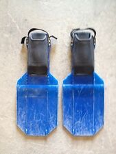 SCUBAPRO Sea Wing Diving Fins Scuba Snorkel L Large Made Italy USED