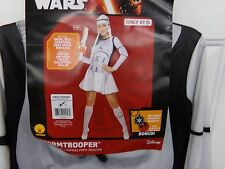 Womens Size Large Star Wars Stormtrooper Halloween Costume NEW
