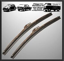 """Vintage & Classic Car 11"""" Stainless Steel 5mm Fitment Wiper Blades"""