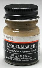 Testors Model Master Dark Tan 1/2 oz model paint new 1742