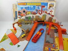 Vintage Matchbox Play Set – Harbor Playset w/ Box – Near Complete – Hot Wheels
