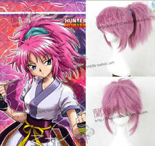 HUNTER×HUNTER-Machi Rose Red Ponytail Wig Styling Synthetic Cosplay Wig