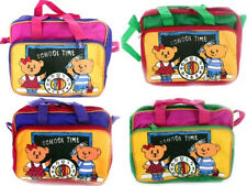 """CHILDRENS WIPEABLE """"SCHOOL TIME"""" MULTI-FUNCTION LUNCH / DINNER / PENCIL CASE"""