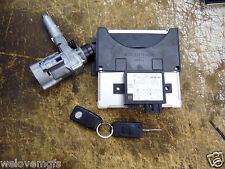 MERCEDES SLK 200 R170 ENGINE ECU KEY FOB + BARREL FROM A 2000 CAR 0001533579