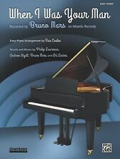 When I Was Your Man : Easy Piano, Sheet by Bruno Mars (2013, Paperback)