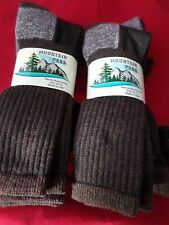 6 Pair Mountain Pass 72% Merino Wool Boot Work Sock Arch Support 10-13 USA