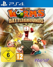 Worms Battlegrounds - Playstation 4 PS4 Spiel