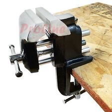 3'' Bench Vise Table Clamp Vice FIXED Steel Jaw Clamping System Jewelers Tool