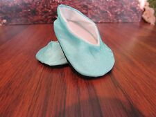 "handmade plain jane shoes light blu Doll Clothes for 18"" American Girl/ 18"" doll"
