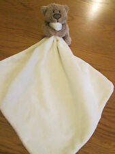 George@Asda new style teddy comfort blanket soft toy.Baby boy / girl. Cream