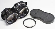Very good Mamiya DS 105mm F/3.5 Blue Bot Lens for TLR C220 C330 Made In Japan