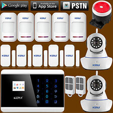 IOS/Android APP Control GSM PSTN Dual Net Alarm System for Home House Security