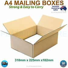 25 x BX2 Mailing Boxes Australia Post Shipping Cardboard A4 Box 300x220x110mm