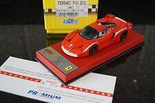 1/43 BBR Ferrari FXX EVO 2007 EX23PRE Premium Rosso Corsa 17/20  Red leatherRARE
