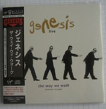 Genesis-live the way we walk volume One the short Japon Mini LP 2cd NEUF rar!
