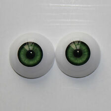 Reborn Baby Doll Eyes 22mm suit for reborn baby doll BJD DOLL Accessories Green