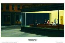 Edward Hopper: Nighthawks-Maxi Poster 61 cm x 91,5 cm (new & sealed)