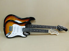 Haze E-110 1/2 Size Sunburst Strat Electric Guitar   Gig Bag   Full Kit!