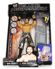 WWE DELUXE AGGRESSION DAIVARI SIGNED TOY FIGURE WITH COA AND EXACT PROOF