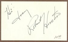 "Robert Horton, Actor, Signed 3"" x 5"" Card, COA, UACC Rd 036"