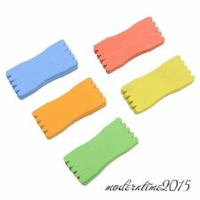 10pcs Winding Plate Panel Board Foam 8CM Fishing Rig Trace Holder Multi-Color