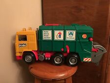 Bruder Sanitation Garbage Recycling Truck German with Dumpster