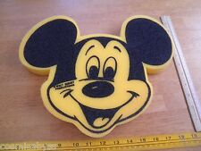 Mickey Mouse 1980's hand puppet foam VINTAGE Disneyland