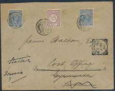 Niederlande Schiffspost Beleg Vlissingen Queensborough 1898 Schottland (3567)