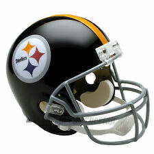 PITTSBURGH STEELERS 63-76 THROWBACK FOOTBALL HELMET – RIDDELL FULL SIZE REPLICA