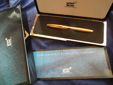 MONTBLANC SOLITAIRE 163VP VERMEIL ROLLERBALL PEN REDUCED PRICE