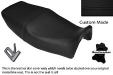 BLACK STITCH CUSTOM FITS YAMAHA XJ 600 N DIVERSION 92-04 DUAL LEATHER SEAT COVER