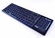 TRUST TACTO WIRELESS ENTERTAINMENT COMPACT KEYBOARD XBOX PSP SMART TV TOUCHPAD