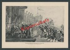 Louis David Kaiser Napoleon Heerführer Feldzeichen Standarten Garde Paris 1804