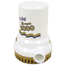 Rule 2000 Gph Gold Series Non  Automatic Bilge Pump [9]