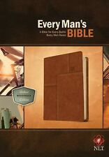Every Man's Bible NLT: Deluxe Messenger Edition (2014, Imitation Leather)