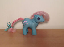Vintage My Little Pony 1984 Baby Bowtie Hasbro G1 MLP Pink Hair & Bows