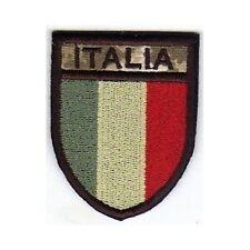 [Patch] SCUDETTO ITALIA softair bassa visibilità cm5x6,5 toppa termoadesiva -449