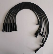 PONTIAC 1974-1981 265,301,350,400,455 HEI 8mm BLACK SPIRAL CORE SPARK PLUG WIRES