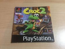 Manual de instrucciones Croc 2 - Sony Playstation 1 - Ps1 Instruction manual