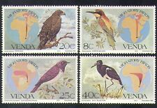 Venda 1983 oiseaux migrateurs/eagle/cigogne/bee-eater/cartes/nature 4v set (b1335)