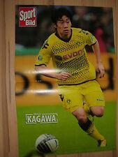 Poster  Shinji Kagawa  aus der Sport Bild  Gr. ca 44 cm x 29 cm