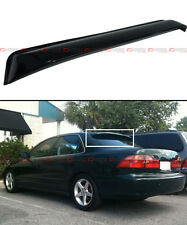 98-2002 6TH GEN HONDA ACCORD SEDAN JDM SMOKE TINTED REAR ROOF AERO WINDOW VISOR
