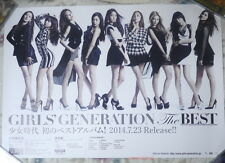 Girls' Generation THE BEST 2014 Taiwan Promo Poster (SNSD)